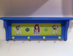 I'm going to copy this idea for Cason's room.  I lalready have the shelf - just add monkey motif.