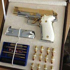 Nice gold gun