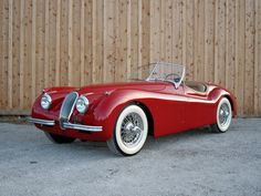 1949 Jaguar XK 120 Roadster Take this car to Tahoe once every summer and enjoy the scenery of forest
