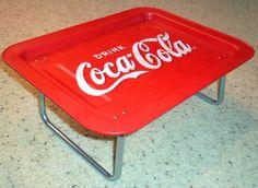 Coca Cola Metal TV Tray
