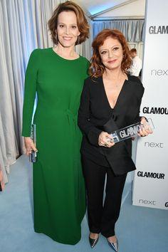 Susan Sarandon & Sigourney Weaver