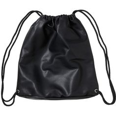 Monki Sonia Bag (245 ARS) ❤ liked on Polyvore featuring bags, backpacks, accessories, black, black magic, knapsack bag, day pack backpack, backpack bags, pleather backpack and monki