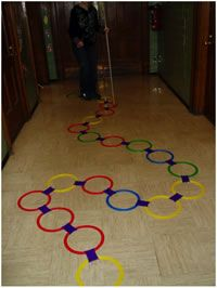 Games that develop Orientation and Mobility skills