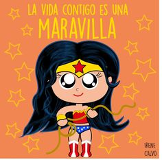 Ilustracion inspirada en Wonder woman de Irene CAlvo
