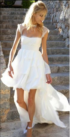 Country High Low Dress. Perfect wedding dress or a dress for a ...