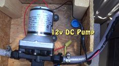 """Wiring a 12v DC Water Pump to a Switch for my Off Grid Outdoor Bathroom - Triple S Bath House"" --  Also found at:   https://www.youtube.com/watch?v=OnJKr25j1zM"