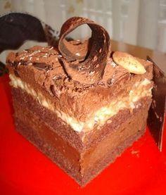 Apasati aici pentru a vedea imaginea completa Romanian Food, Romanian Recipes, Sweet Tarts, Something Sweet, Baked Goods, Good Food, Fun Food, Cheesecake, Cooking Recipes
