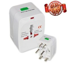 $2.99 + FREE shipping  Ben's Deal of The Day! 24-Hrs Only: Ace Home Universal Travel Adapter and Surge Protector!