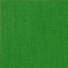 Cotton Blend Broadcloth Kelly Green  Curtain Color