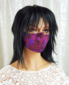 Seems I can't stop making #covidmasks. I get inspired when I find stunning #fabricdesign like on this one. I really believe we should #makemaskwearingfun. Why not brighten up everyone's day? How do your feel about wearing something like this on your face?   #covidmasksforsale #covidmasksafe #covidmasksbutfashion #covidmaskscanbecool #covidmasksdoneright #covidmaskslife #covidmasksmadewithlove Floral Fabric, Black Fabric, Steampunk Hat, Half Mask, Steampunk Accessories, Masks For Sale, Fabric Design, Sunglasses Women, Layers