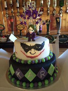 The Joker cake