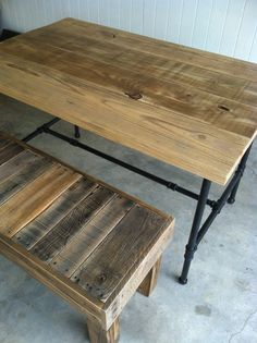 We had 3 of these tables custom made for our restaurant, and are very happy with them. Donald was easy to communicate with and the tables are solid quality. They will serve many customers well for years to come!
