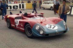 Alfa-Roméo T33/3 #37 - Le Mans 1970 -Toine Hezemans/Masten Gregory