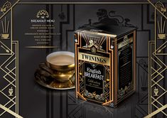 Twinings Limited Edition English Breakfast Pack on Packaging of the World - Creative Package Design Gallery