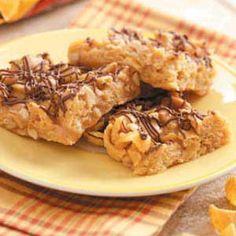 Salty Peanut Squares Recipe