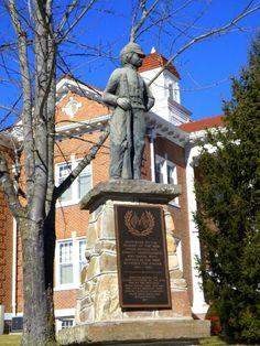 Civil War memorial,Pendleton County Courthouse,Franklin WV