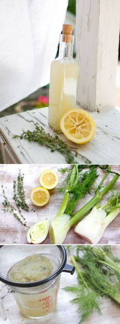 Homemade Toner with Fennel