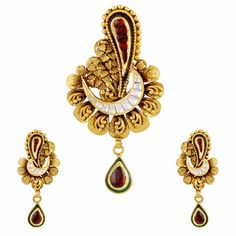 #gold #pendant #Mehrasons #Jewellers #Set #bridal #trousseau #design #jewellery