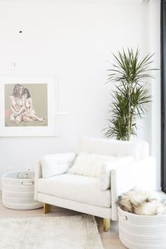 Atkin and husband, photographer Mike Rosenthal, teamed up with AllModern and Consort Design to create the serene oasis of their dreams.