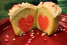 Valentine Cupcake seen it on youtube ! It's soo cute love it