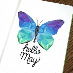 Hello May! Bring some warm weather to Chicago! Getting ahead of setting up my May pages! #bulletjournaljunkie #bulletjournaljunkies…