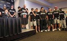 Miami Marlins-Press Conference - Robert Mayer/USA TODAY Sports
