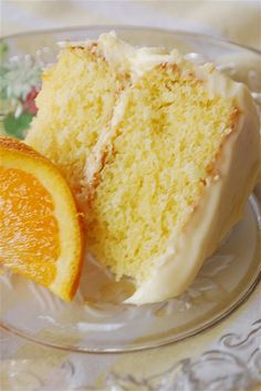 California Orange Cake.  Pinned by www.CaliforniasHarvest.com