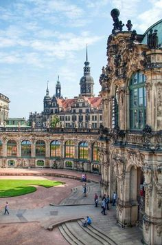 Geo D Dresden Germany. To see all of Dresden I would need at least a month. It is glo architecture Dresden Geo Germany glo month Residential Architecture complex Places Around The World, Oh The Places You'll Go, Places To Travel, Places To Visit, Around The Worlds, Beautiful Castles, Beautiful Buildings, Beautiful World, Temples