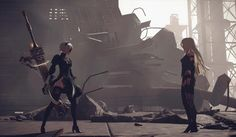 NieR: Automata for PS4 Gets Street Date & Glorious Black Box Edition Announced
