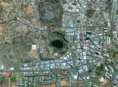 Kimberley (Big Hole, mine diamants) Afrique du Sud