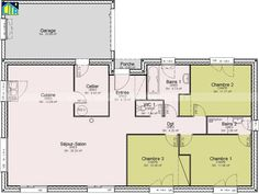 Awesome Plan Maison 4 Chambres Bretagne that you must know, You?re in good company if you?re looking for Plan Maison 4 Chambres Bretagne Family House Plans, Best Investments, Good Company, Detached House, Planer, Budgeting, New Homes, Floor Plans, How To Plan