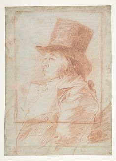 *Self-Portrait* Goya (Francisco de Goya y Lucientes) (Spanish, Fuendetodos 1746–1828 Bordeaux)