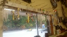 Our collection of small windchimes