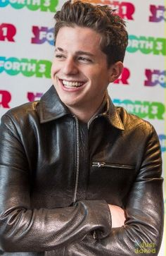 Damn that smile....mmm Charlie Puth