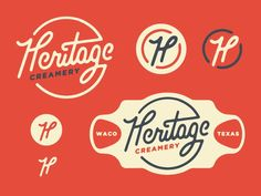 Find tips and tricks, amazing ideas for Vintage logos. Discover and try out new things about Vintage logos site Vintage Logos, Vintage Logo Design, Retro Design, Vintage Branding, Vintage Type, Vintage Labels, Retro Vintage, Typography Logo, Graphic Design Typography