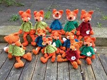 Jättefint Newsletter Juni Juni, Handmade Toys, Softies, Carpentry, Provence, Great Gifts, Fox, Country, Crochet
