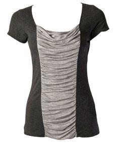 Camisa Scoopneck a la camisa del bloque del color * ahora con un enlace a la tute * - ROPA