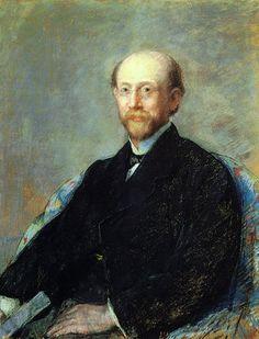 Cassatt Mary - Moise Dreyfus 1879.