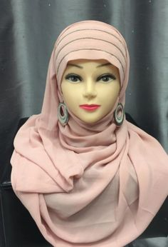 Hijab A Enfiler, Hijab Outfit, Muslim Fashion, Hijab Fashion, Hijab Style, Bandeau, Boutique Dresses, Fashion 2020, Photo And Video