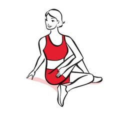 This Spine and Back-Muscle Stretch helps keep your back flexible and pain-free. | Health.com