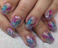 Nails created by Rossella nails nailart nail art fashion