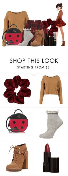 """Marinette (Miraculous Ladybug)"" by princessmikyrah ❤ liked on Polyvore featuring Charlotte Olympia, Dorothy Perkins, BCBGeneration, Serge Lutens and Christian Louboutin"