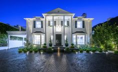 'Million Dollar Listing': Josh Altman Is Selling His $12 Million House – DIRT Beverly Hills Mansion, Brick Facade, Mansions Homes, Park Homes, Interior And Exterior, House Styles, Mansions