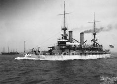 USS Kearsarge BB-05, the only battleship not named after a state.
