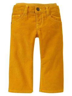 Gap | Knit-waist corduroy pants (cooper)