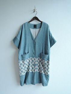 ミナペルホネン minaperhonen dear 刺繍羽織りコート