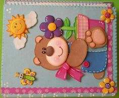 Foam Crafts, Diy And Crafts, Crafts For Kids, Paper Crafts, Class Decoration, Edible Arrangements, Decorate Notebook, General Crafts, Scrapbook Embellishments