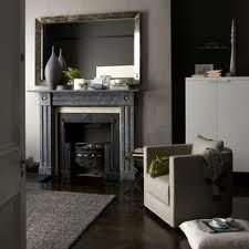dark grey walls living room - Google Search