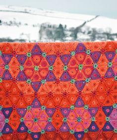 Florence Crochet Blanket by Amanda Perkins