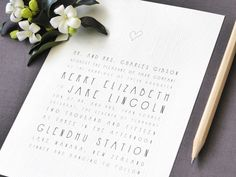 Printable Wedding Invitation Handwritten Style by FalmariPaperCo Minimalist Wedding Invitations, Printable Wedding Invitations, Outside Decorations, Wedding Decorations, Wedding Ideas, Heart Hands Drawing, Papers Co, Modern Minimalist, Paper Goods